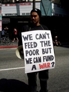 We can't feed the poor