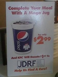KFC diabetes deal