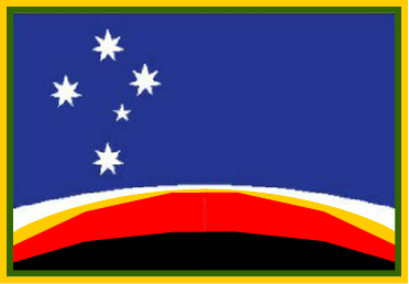 David Thorp flag design